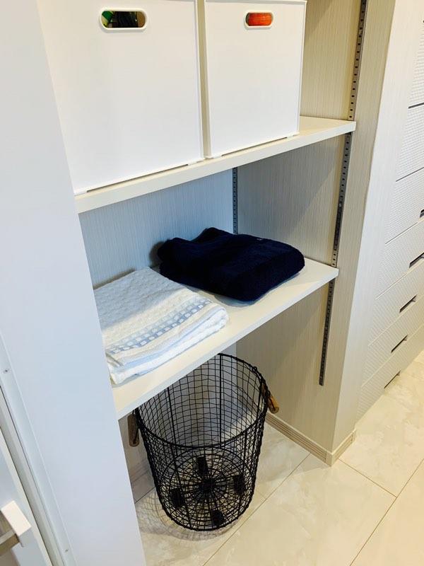 洗濯物置き場